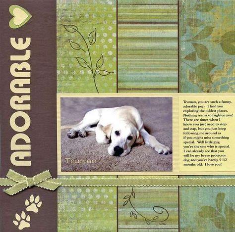 Adorable puppy - simple design... Love it!!!