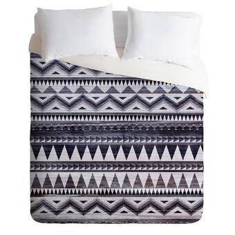 Fonwhary Cotton Printed Reversible Duvet Cover Set Duvet Covers Duvet Cover Sizes Duvet