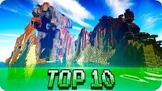 Minecraft Seeds - TOP 10 SEEDS! Best Seeds for Minecraft 1 12 / 1 11