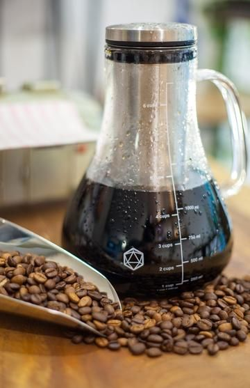 Arctic Cold Brew Coffee System Iced Glass Pitcher By ICOSA Brewhouse
