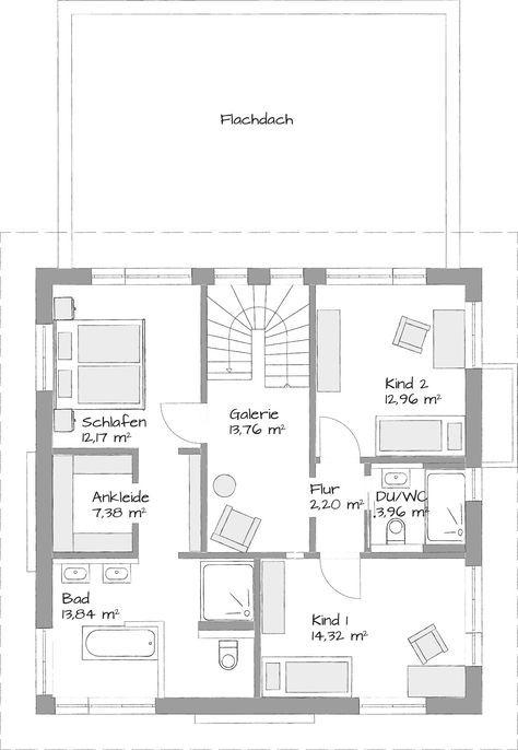 Stadtvillen Setros Haus Grundriss Hausbau Grundriss Und Grundriss Einfamilienhaus