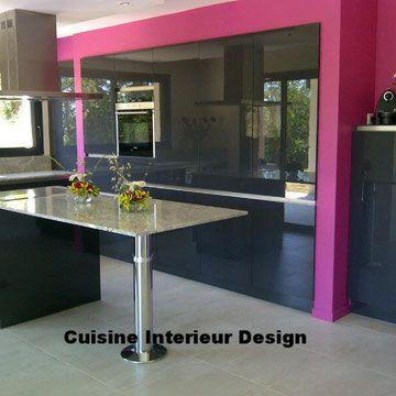 Cuisine Design Cuisiniste Specialiste Des Meubles De Cuisine Haut De Gamme Sur Mesure De Qualite Alleman Cuisines Design Meuble Cuisine Cuisine Design Moderne