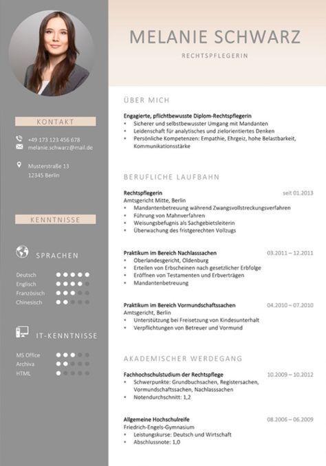 Ein Lebenslauf Design Mit Kurzprofil Gibt Dem Personaler Einen Ersten Eindruck Uber Den Bewerber M Modelos De Curriculo Criativos Curriculo Curriculo Criativo