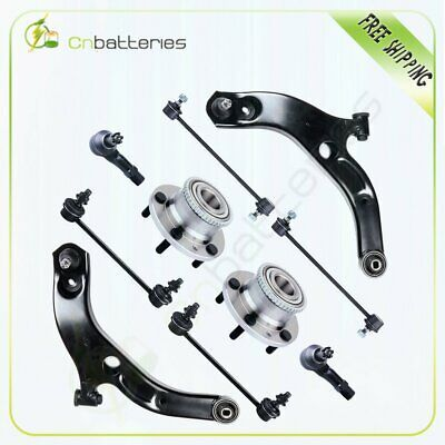 Details About 10 Control Arm Ball Joint Wheel Bearing Tie Rod Kit