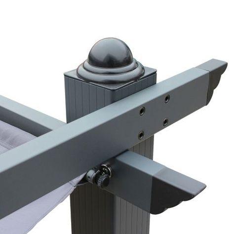 3x4m Aluminium Pergola Met Schuifdak Pergola Dak Pergola Pergola S