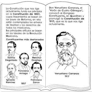 Fichas Para Trabajar El 5 De Febrero Promulgacion De La Constitucion Mexicana De Constitucion Mexicana Para Ninos Constitucion Para Ninos Constitucion Mexicana