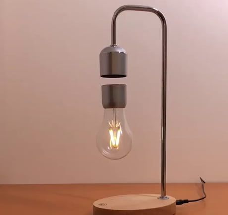 Magnetic Suspension Lamp | Lamp, Desk lamp, Suspension lamp