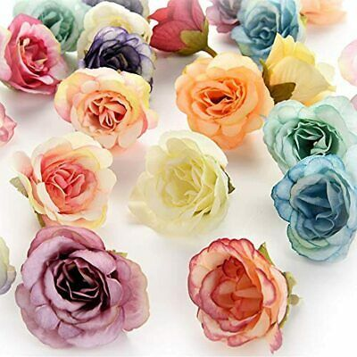 Flower Heads In Bulk Wholesale For Crafts Rose Artificial Silk Peony Flowers Diy In 2020 Artificial Silk Flowers Wholesale Roses Fake Flowers