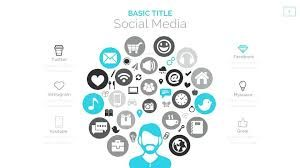 Social networking powerpoint template.
