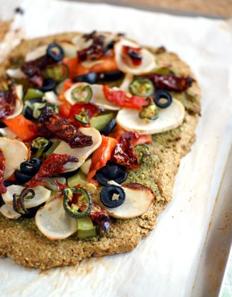 How to Bake #Grainfree and #vegan: tips and Grain-Free Pizza Crust Recipe!