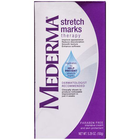 Mederma Stretch Marks Therapy Hydrates To Help Prevent Stretch