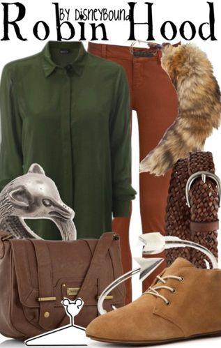 Robin Hood by disneybound