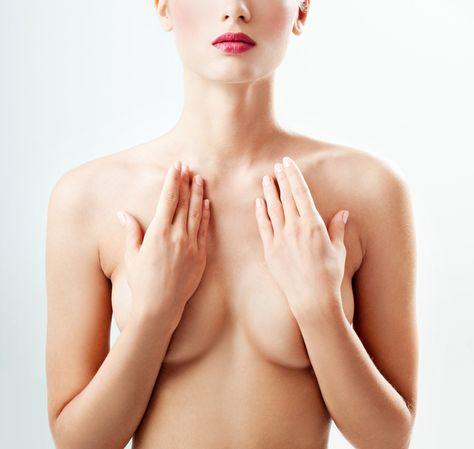 きれいな胸の形