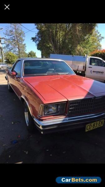 Car For Sale 1979 Chevrolet El Camino 350 V8 Not Pontiac Dodge Gm