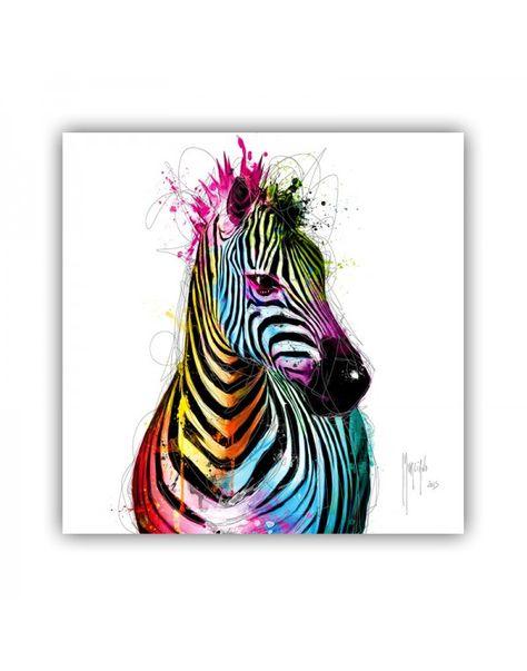 Zebra Pop - ArtShop Patrice Murciano