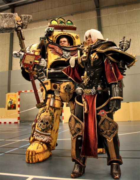Space Marine and Sister of Battle, Warhammer 40,000