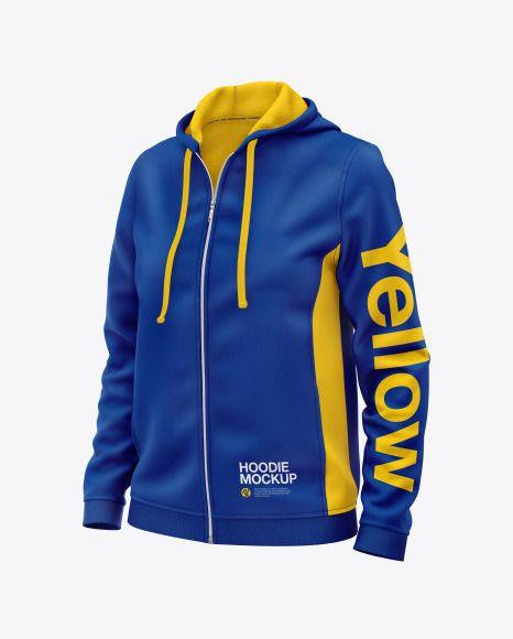 Download Women S Hoodie Mockup In Apparel Mockups On Yellow Images Object Mockups Hoodie Mockup Womens Hoodie Mockup Clothing Mockup