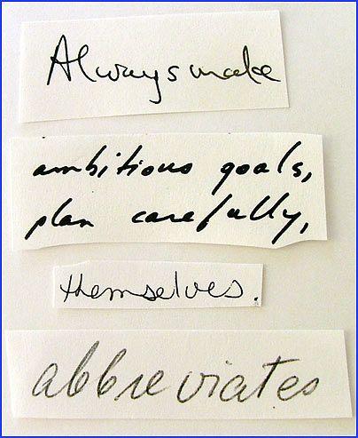 HandwritingAuthority - Sample Analysis Handwriting - sample analysis