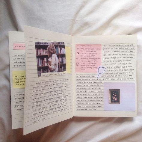 16 Art Journal Page Ideas on We Heart It