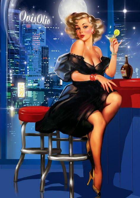 Tatiana Doronina : Pin Up and Cartoon Girls