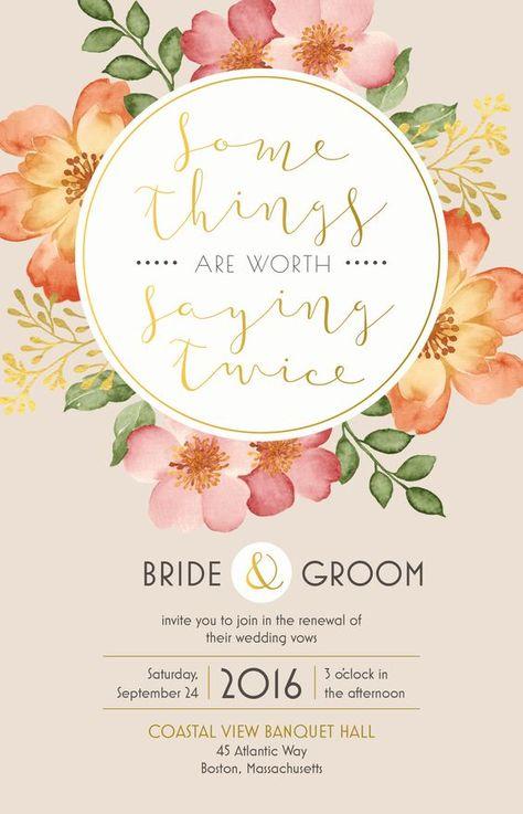 Flora Wedding Invitations 3 Invitaciones De Boda Boda En Cancun