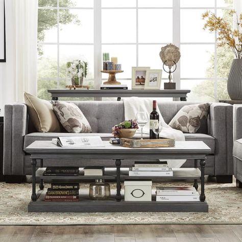 hamilton modern linen sofa with button tufting by inspire q bold rh pinterest fr