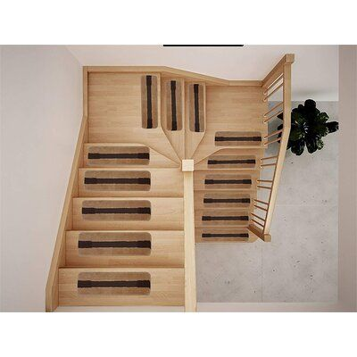 Symple Stuff Ascencio Luxury Soft Stair Tread In 2020 Stair Treads Space Saving Staircase Symple Stuff