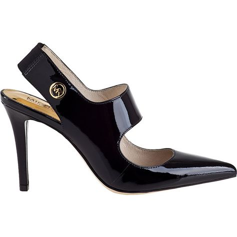 de1d5ba3fe66 MICHAEL MICHAEL KORS Sivian Pump Black Patent ( 125) found on Polyvore