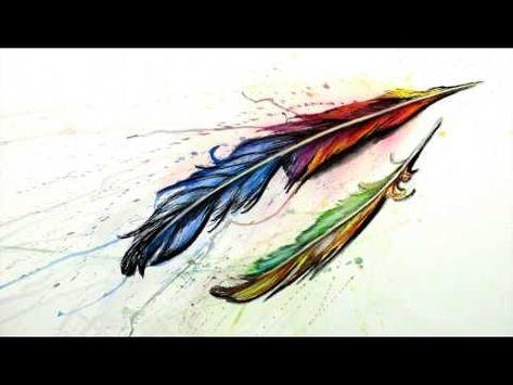 Malen Mit Tusche Und Aquarell Federn Begleitvideo Zur