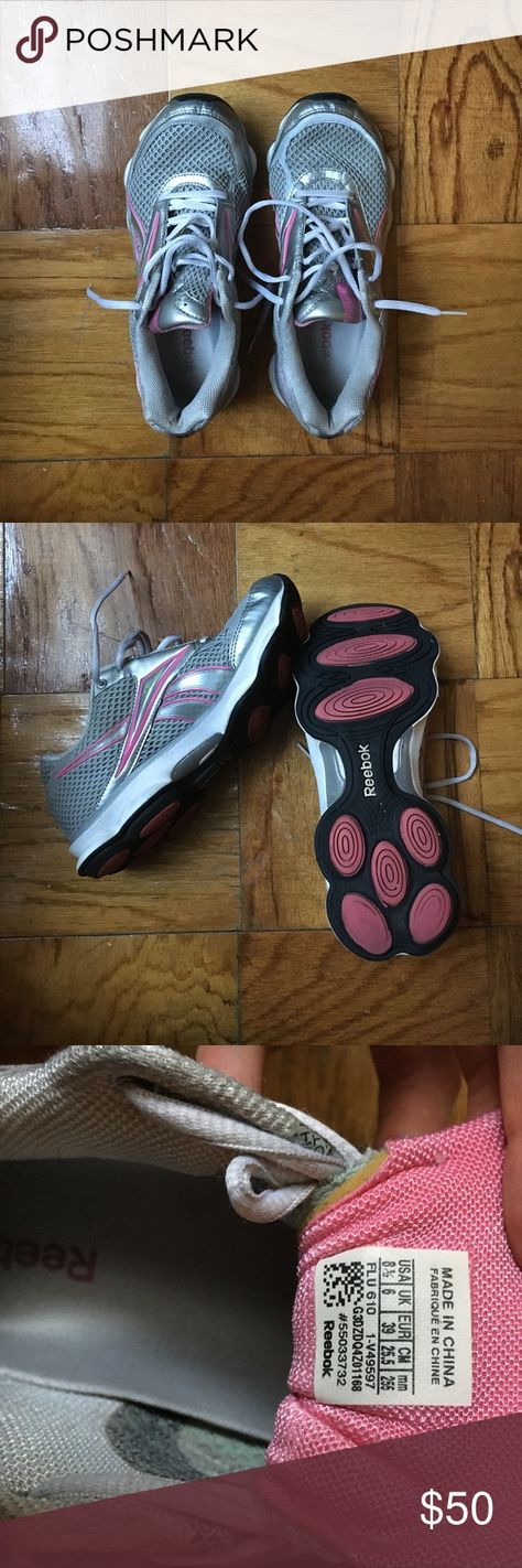 a22ff401fb5 REEBOK Runtone women s running shoes This pink and grey sneaker is one  definite must have product