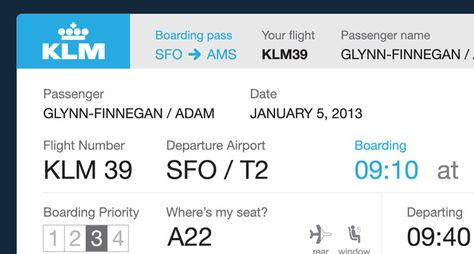 Dear Airlines This Is What Your Boarding Passes Should Look Like Boarding Pass Airlines Redesign