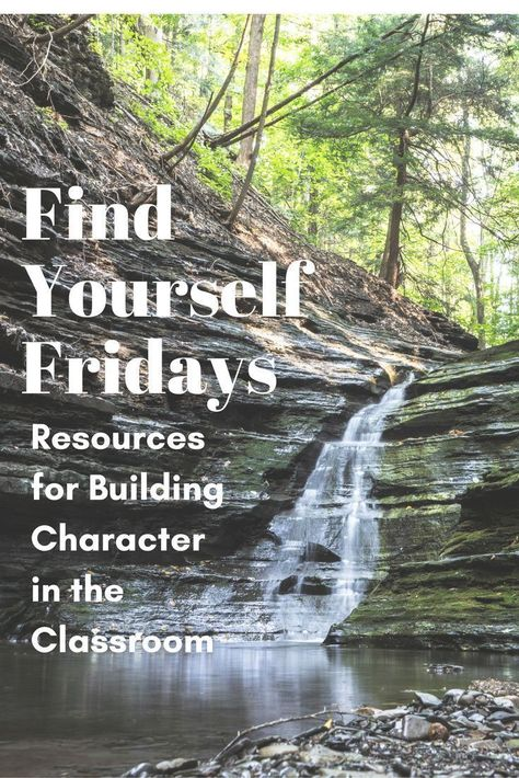 Find Yourself Fridays: Character Education in the Classroom - David Rickert