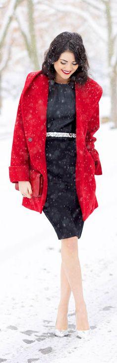 Bright Red Coat <3