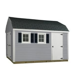 The 10 Ft X 12 Ft Horizon Shed Features 2 Separate Entrances Which Is Ideal For Folks Who Own Lawn And Garden Tractors And Other Sheds Usa Shed Installation