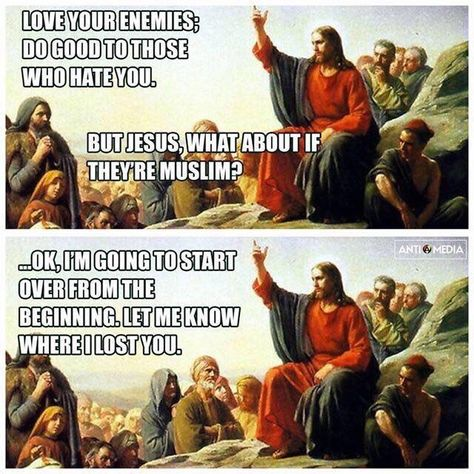 "rabidjedi-bro: "" tinyhousedarling: "" I love these memes. "" Never not reblog sassy-sarcastic Jesus lovingly putting people on the right track. """