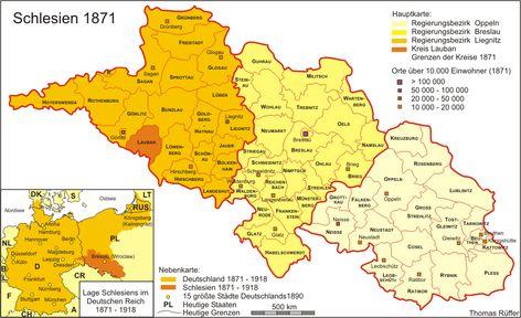 Pin Von Paxi Auf Maps Schlesien Geographie Karte Karten