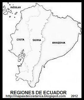 Resultado De Imagen Para Mapa Del Ecuador Para Colorear Map World Map