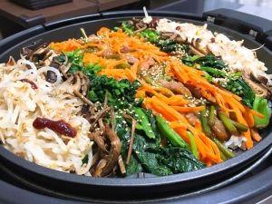 ホットプレートde野菜たっぷりビビンバ レシピ 作り方 レシピ