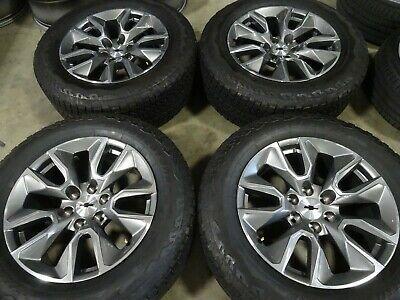 Advertisement Ebay 20 2019 Chevy Silverado 1500 Factory Oem Wheels Rims Tires Tahoe Escalade 5916 Chevy Silverado 1500 Chevy Silverado Silverado