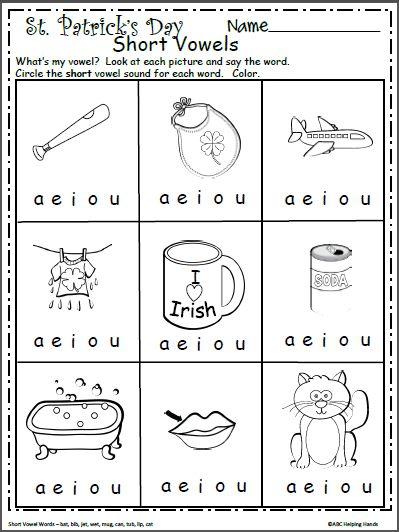 Free Short Vowels Worksheet For Kindergarten Made By Teachers Short Vowel Worksheets Vowel Worksheets Short Vowels Free vowels worksheets for kindergarten