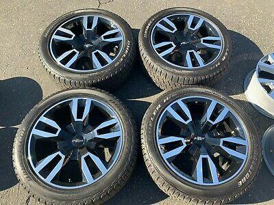 Advertisement Ebay 2020 Chevy Tahoe Factory 22 Wheels Tires Oem