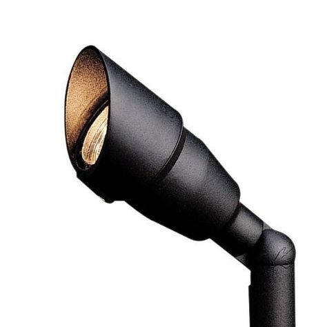 Kichler Lighting 15374azt20l 12 Volt Low Voltage Mini Accent Light With Flood Bulb Textured Architectural Bronze By Kichler 71 Bulb Accent Lighting Kichler