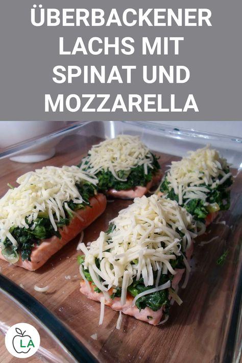 Dieser Low Carb Lachs aus dem Ofen ist durch den Spinat richtig gesund. Hier findest du das gesunde Rezept, welches sich bestens zum Abnehmen eignet. #gesundheit #diät #abnehmen