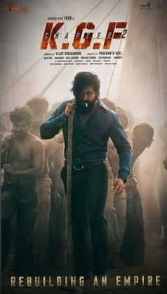 KGF Chapter 2: Budget, Hit or Flop, Box Office Collection, Day Wise,  Predictions, Screen Count, Running Time in 2020 | New poster, Chapter,  Actors images