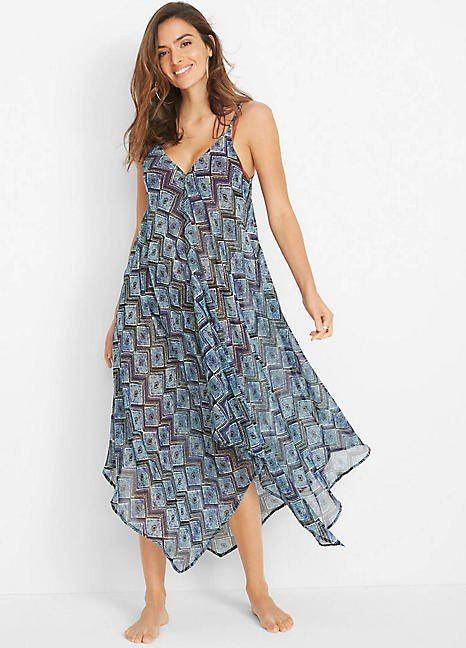Chiffon Beach Dress By Bpc Selection Dresses Floaty Dress Flattering Maxi Dress