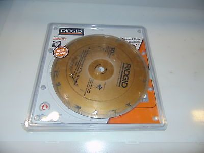 Tile Saws 122836 Ridgid 10 In Premium Tile Diamond Blade Buy It Now Only 35 On Ebay Ridgid Premium Diamond Blade Diamond Blades 10 Things Tiles