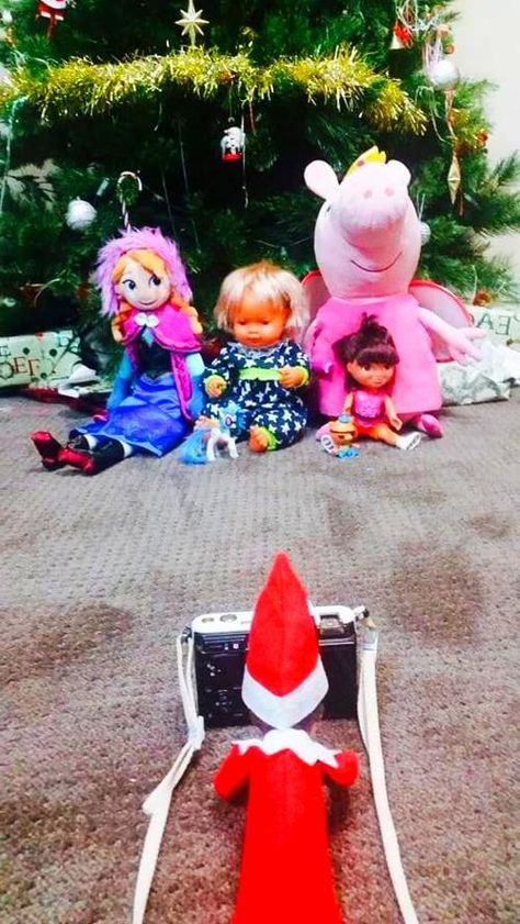 Elf on the shelf ideas These creative Elf on the Shelf ideas will help you be the most organised parent around this December with mostly simple ideas on how you can set up your Elf on the Shelf each night  #ElfOnTheShelfIdeas #elfontheshelfideas