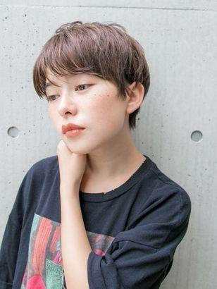 外国人風ベリーショート ヘアカタログ スタイル 町田の美容室 美容
