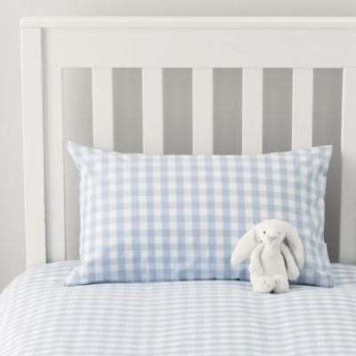 Pin By Kate Mcnabb On Blue Dots Gingham Stripes Blue Bedding Blue Boys Bedroom Blue Bedroom