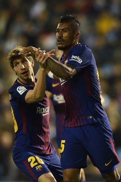 Paulinho Photos Photos Celta De Vigo Vs Barcelona La Liga Celta De Vigo La Liga Barcelona